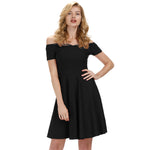 Grace Karin Retro 1/2 Sleeve Off Shoulder Dress