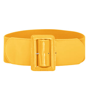 Load image into Gallery viewer, Grace Karin Buckle Stretchy Waistband Belt