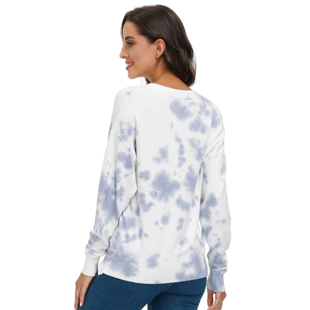 Load image into Gallery viewer, Grace Karin Tie-Dyed Sweater Comfy Knitwear