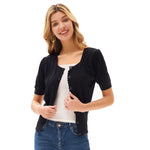 Grace Karin Women Loose Fit Square Neck Cardigan Sweater