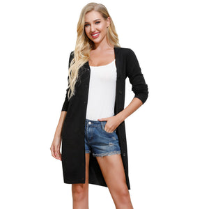Load image into Gallery viewer, Grace Karin Thigh Length Sweater Cardigan