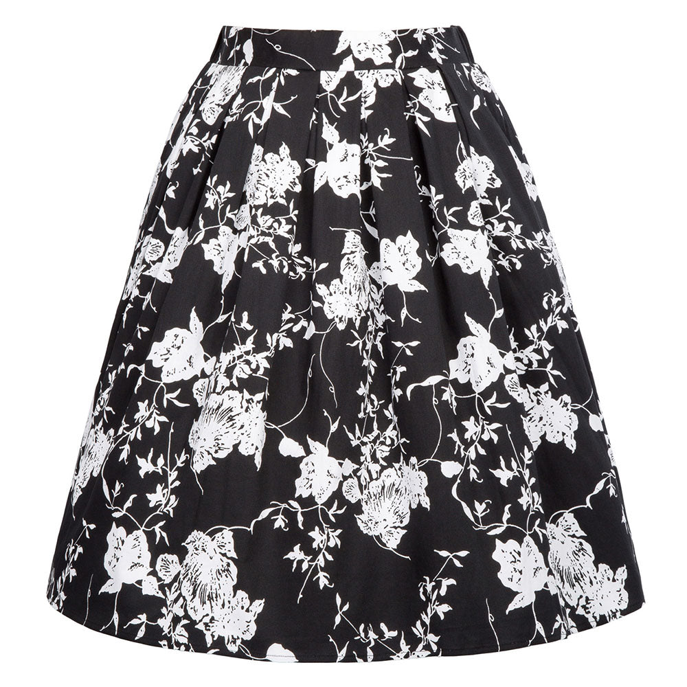 Load image into Gallery viewer, Grace Karin Vintage Retro Pleated Cotton Skirt