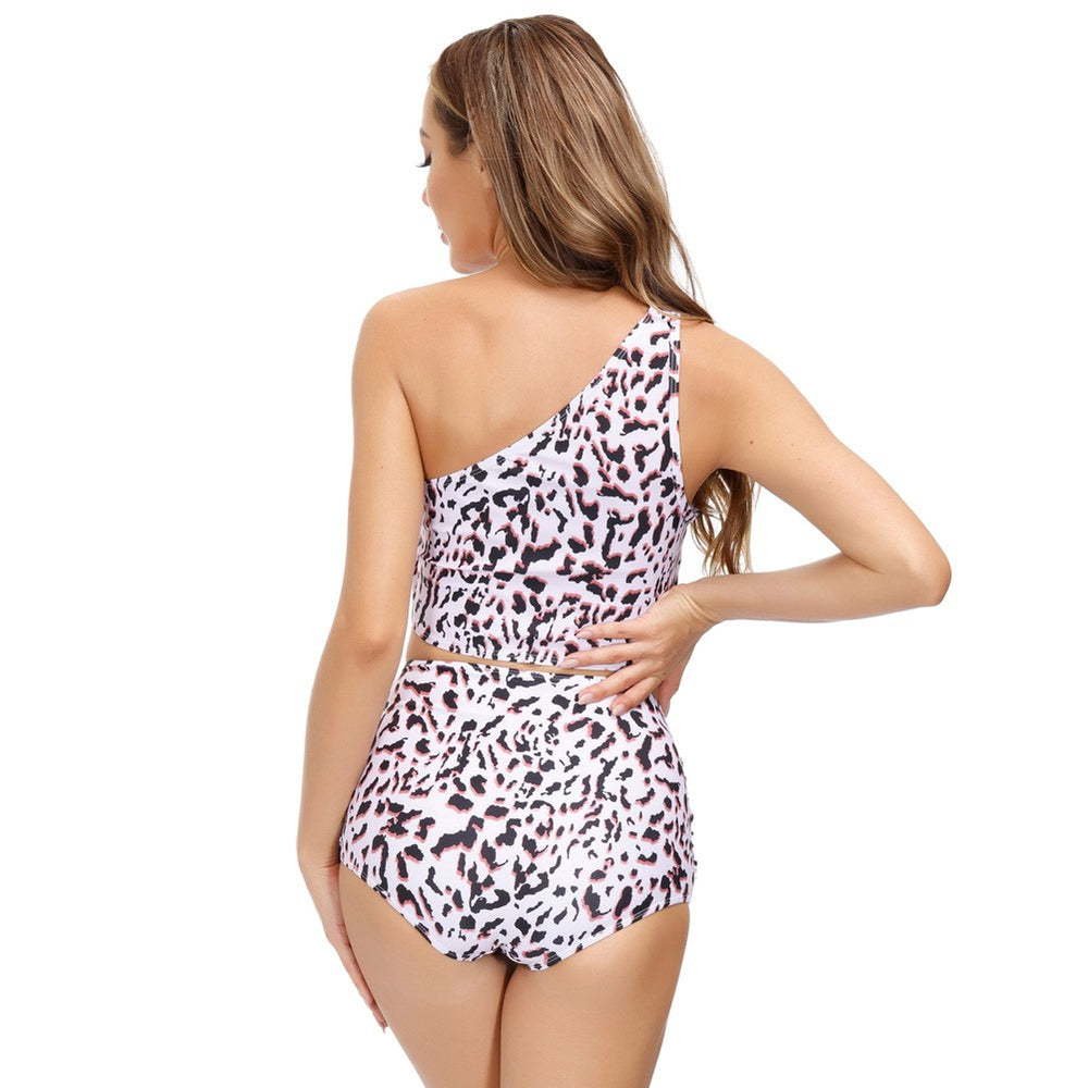 Grace Karin One Shoulder Separated Swimsuit