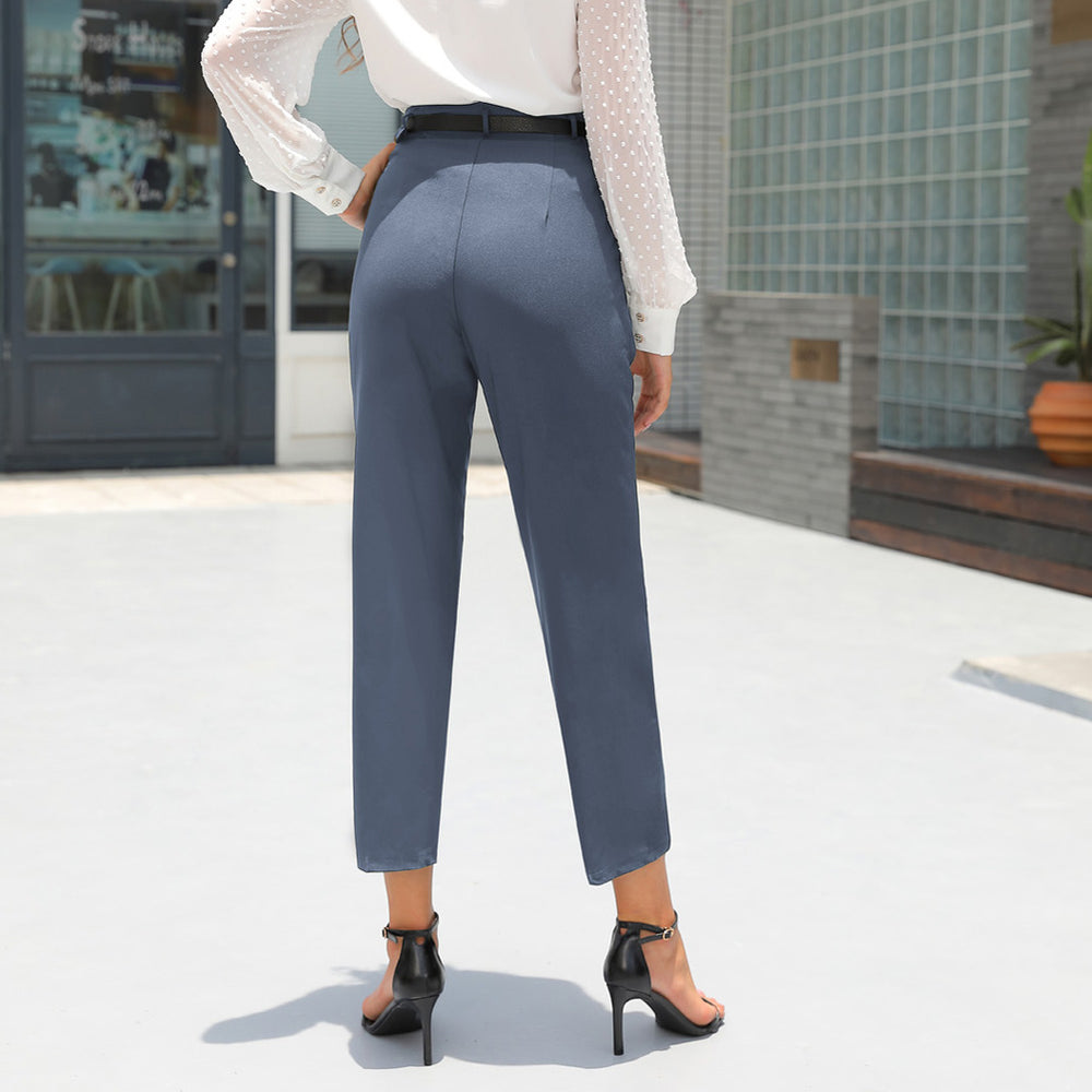 Grace Karin Ankle With Belt Pants