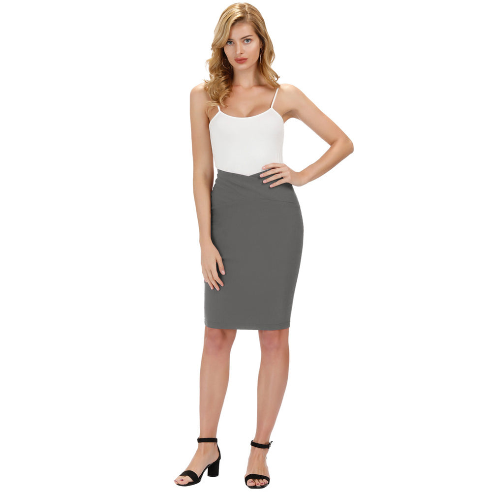 Load image into Gallery viewer, Grace Karin Office High Stretch Pencil  Skirt