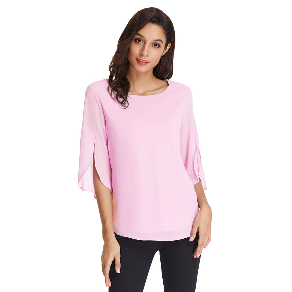 Grace Karin Split Sleeves Chiffon Tops