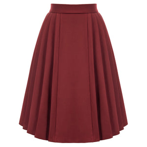 Load image into Gallery viewer, Grace Karin High Waist Pleated Flared Skirt
