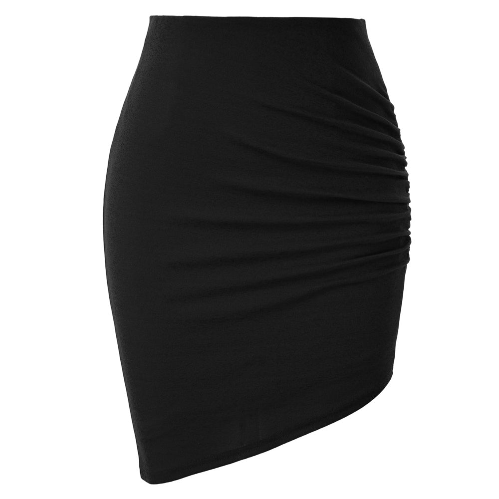 Grace Karin Irregular Hem Pencil Skirt