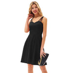 Grace Karin Triple-Strap Flared A-Line Dress