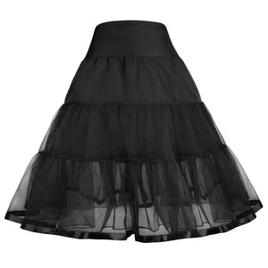 Grace Karin Two Layers Vintage Girls Skirt