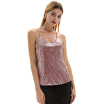 Grace Karin Sequined Camisole Cami