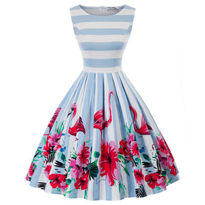 Load image into Gallery viewer, Grace Karin Plus Size Cotton Pleated Dress