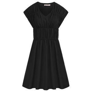 Grace Karin Ruched A-Line Dress