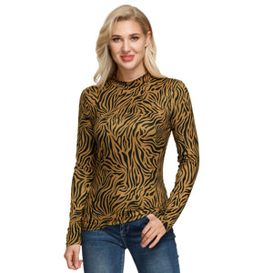Load image into Gallery viewer, Grace Karin High Neck Micro Fiber Slim Fit Tops