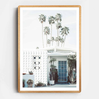 Palm Springs Entrance Print
