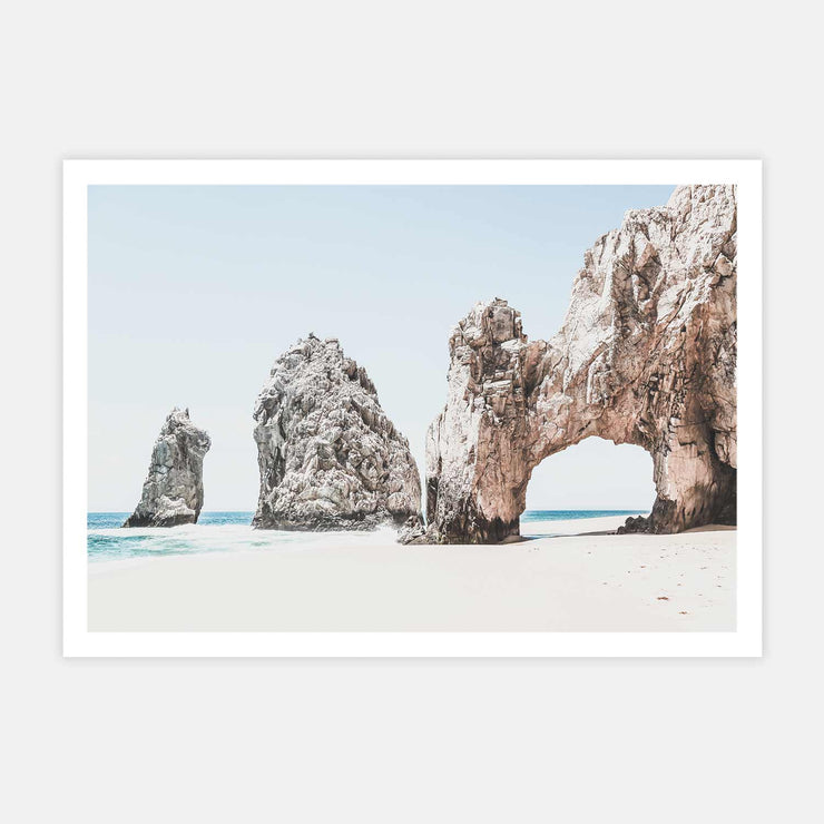 Print Workshop, Cabo San Lucas, Print Only No Frame with White Border