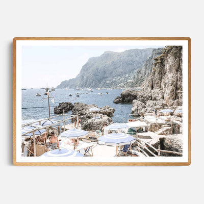 Amalfi Holiday Print