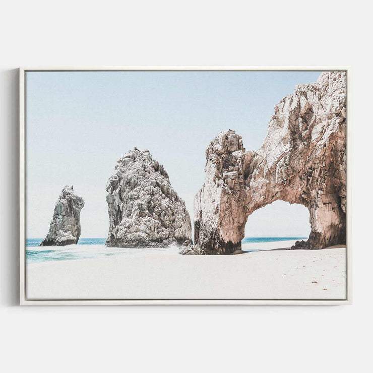 Print Workshop, Canvas Print, Cabo San Lucas, Floating Frame, White Smooth Coating
