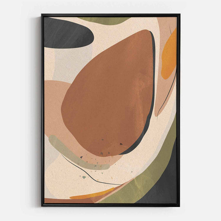 Print Workshop, Canvas Print, Natural Harmony, Floating Frame, Black Smooth