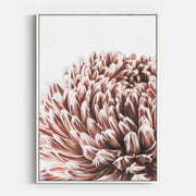 Print Workshop, Canvas Print, Vintage Floral #3, Floating Frame, White Smooth Coating