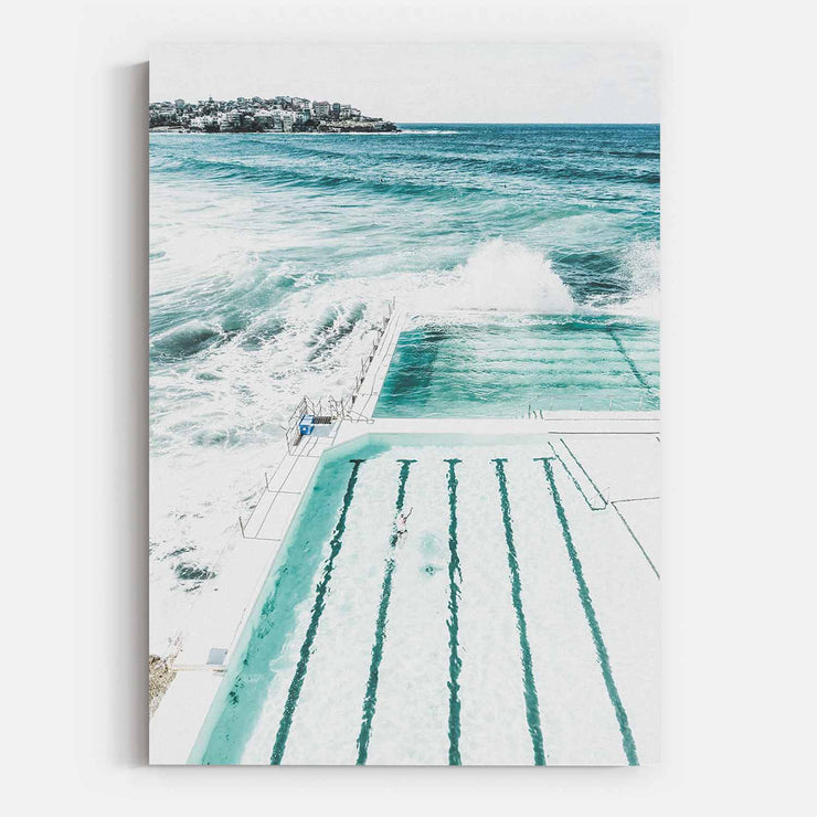 Bondi Beach Pool Canvas