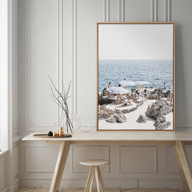 Amalfi Summer Time Canvas Mockup