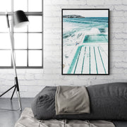 Bondi Beach Pool Canvas Mockup