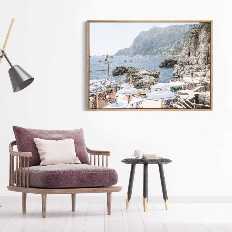 Amalfi Holiday Canvas Mockup