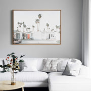 Palm Springs Drive Canvas Mockup
