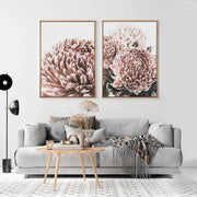 Vintage Floral No.4 Canvas Mockup