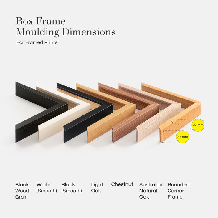 Box Frame Moulding Dimensions