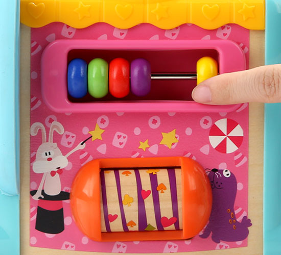 🐘 5In1 Elephant Activity Cube Toys for Toddlers - 数珠子
