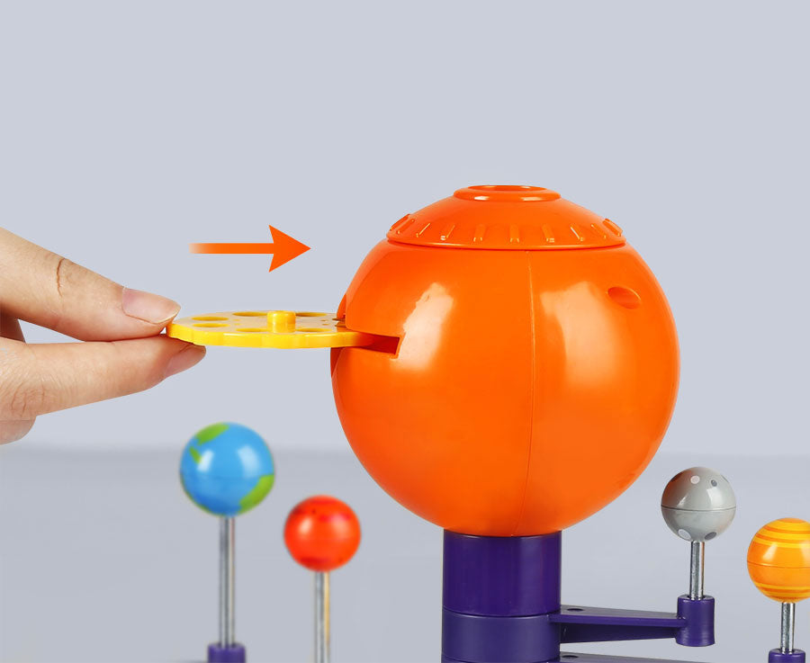 🌌 Solar System Planetary Electronic Projector - Science Can - Slider Discs