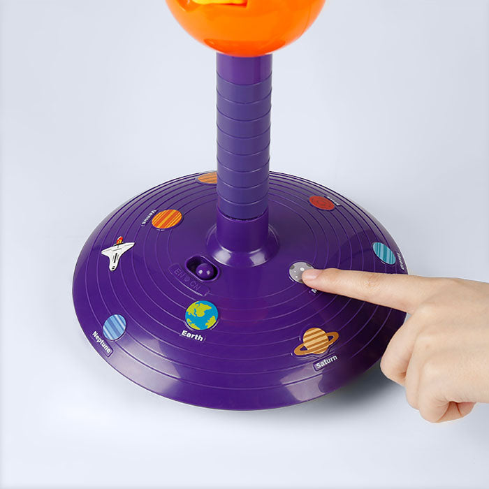 🌌 Solar System Planetary Electronic Projector - Science Can - Play with a Touch