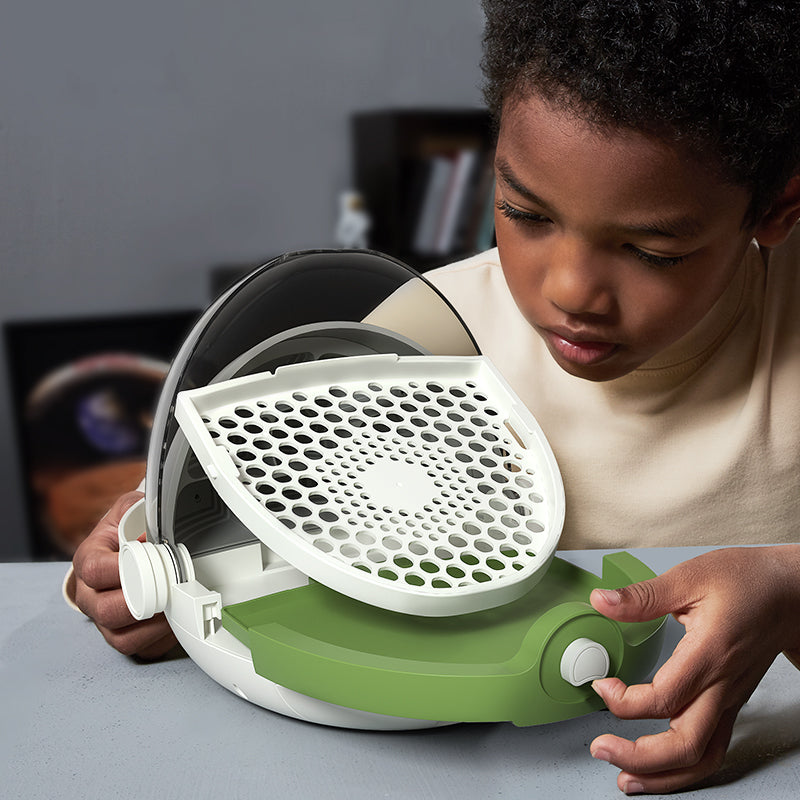🐛 Greatly Increase Your Silkworm Harvest - STEAM Educational Device - Easy to clean