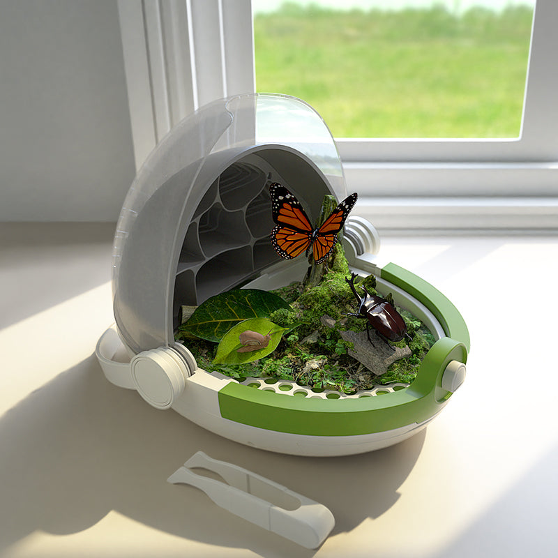 🐛 Greatly Increase Your Silkworm Harvest - STEAM Educational Device - A home for the insects
