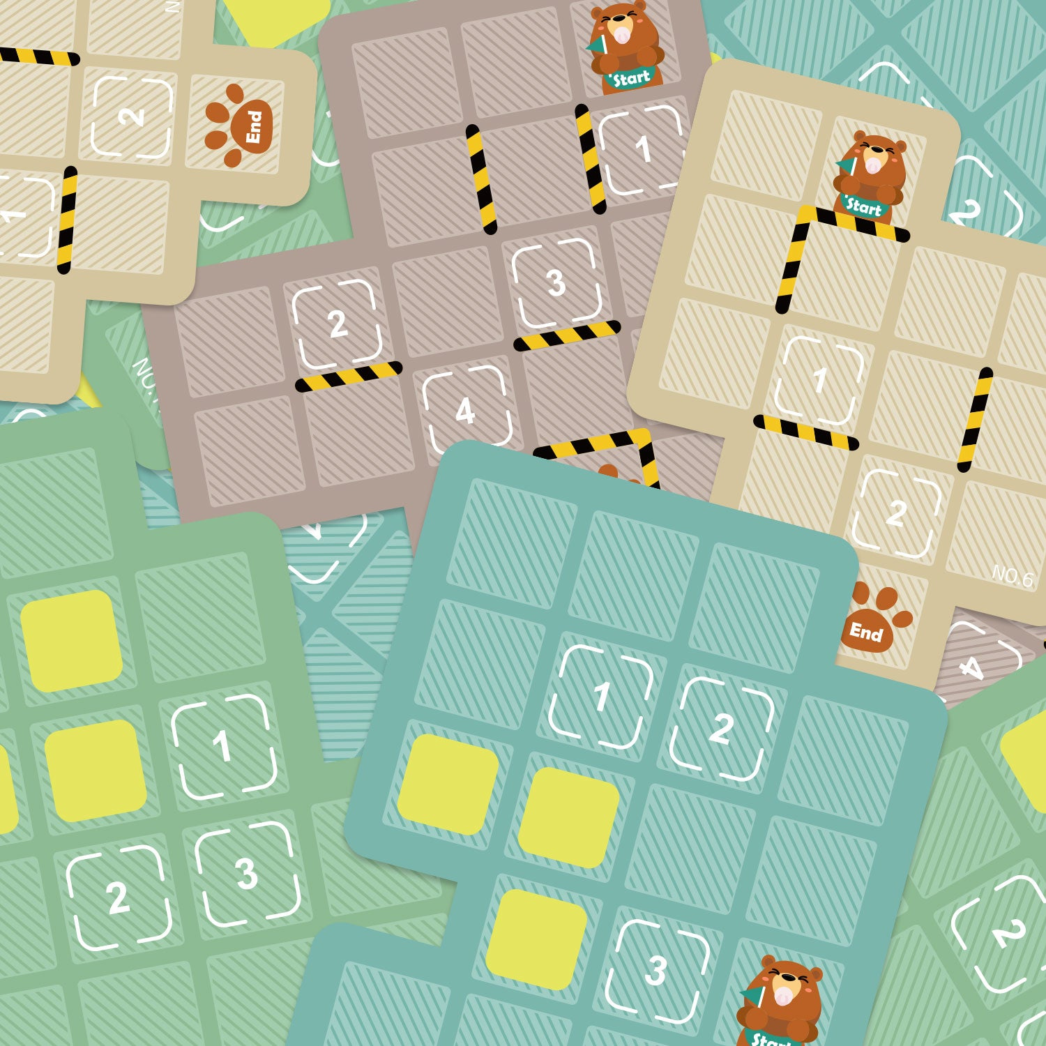 Bear Box Maze | Educational Puzzle Game For Kids | Topbright - Maps