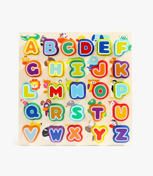 Animals & Alphabet Puzzle