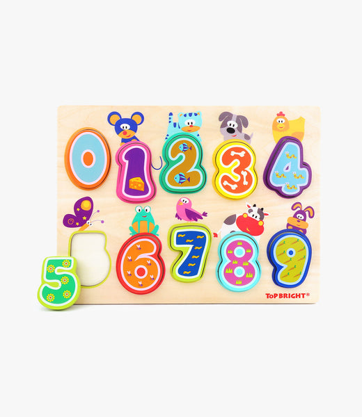 Animals & Number Puzzle