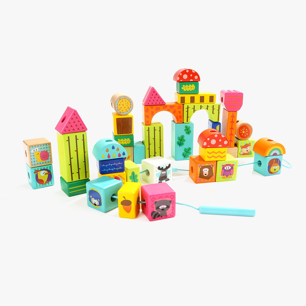 Forest Animal Building Blocks