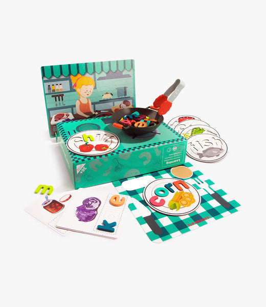 ABC Spell&Play Food Box