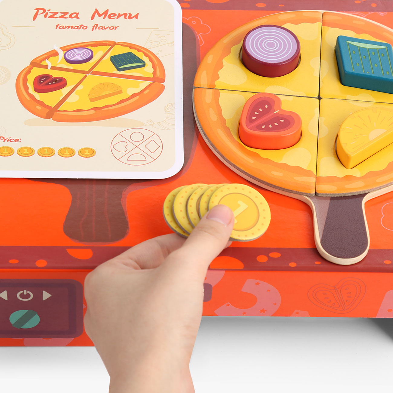 Logi-Shape Pizza Box