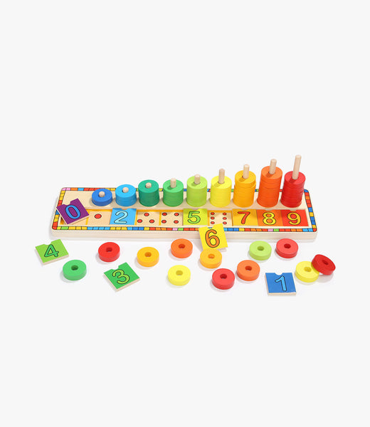 Rainbow Donuts Count & Match Numbers