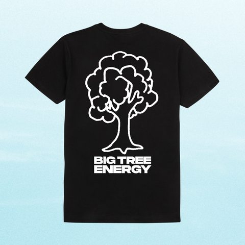 BIG TREE ENERGY T-SHIRT: BLACK + DIGITAL ALBUM