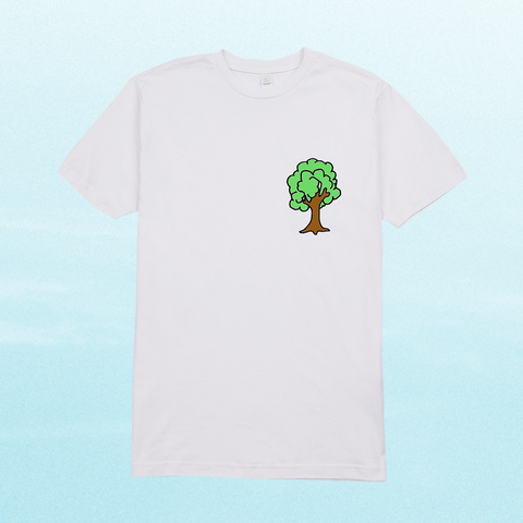 BIG TREE ENERGY T-SHIRT: WHITE + DIGITAL ALBUM