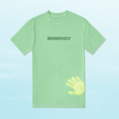 ENERGY: HEAT SENSITIVE T-SHIRT + DIGITAL ALBUM
