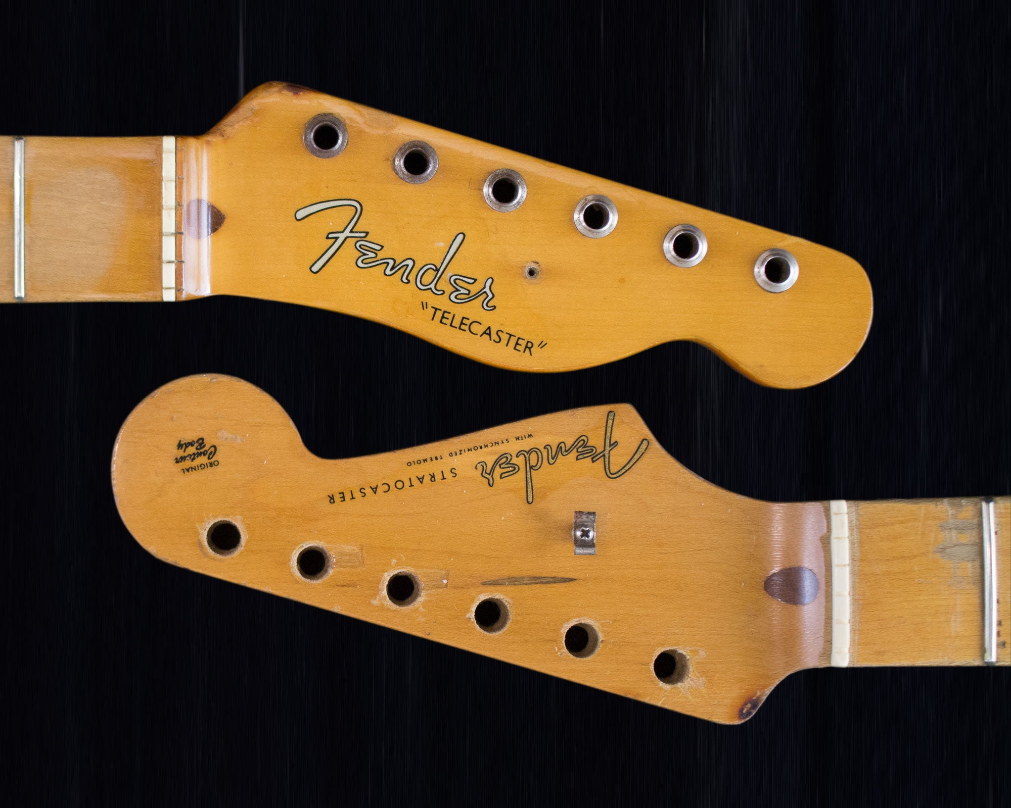 Fender headstock detail