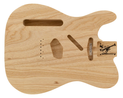 TC BODY 3pc Swamp Ash 2 Kg - 827324-Guitar Bodies - In Stock-Guitarbuild