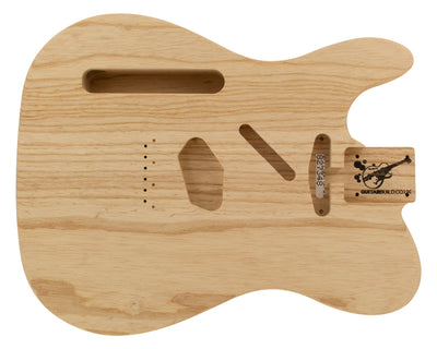 TC BODY 2pc Swamp Ash 2 Kg - 827348-Guitar Bodies - In Stock-Guitarbuild