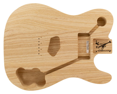 TC BODY 3pc Swamp Ash 1.8 Kg - 827560-Guitar Bodies - In Stock-Guitarbuild